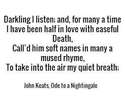 Ode to Nithingale