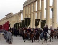 roman columns palmyra